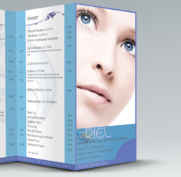 ERIEL Beauty Salon - Price List- by Zorg-Design