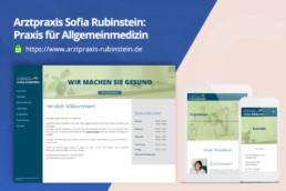 Arztpraxis-Rubinstein - Webdesing by Zorg-Design