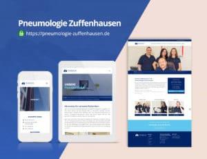 Pneumologie Zuffenhausen Webdesign