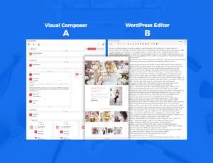Visual Composer vs. WordPress Editor