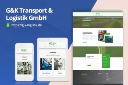 G&K Transport & Logistik GmbH - Webdesing by Zorg-Design