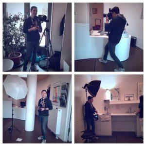 Making-of Bilder