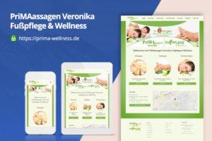 Prima-Wellness - Webdesing by Zorg-Design