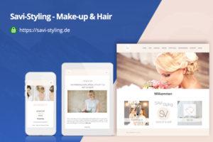Savi-Styling - Webdesing by Zorg-Design