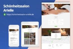 Schönheitssalon Arielle - Webdesing by Zorg-Design