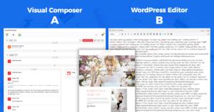 Visual Composer vs WordPress Editor